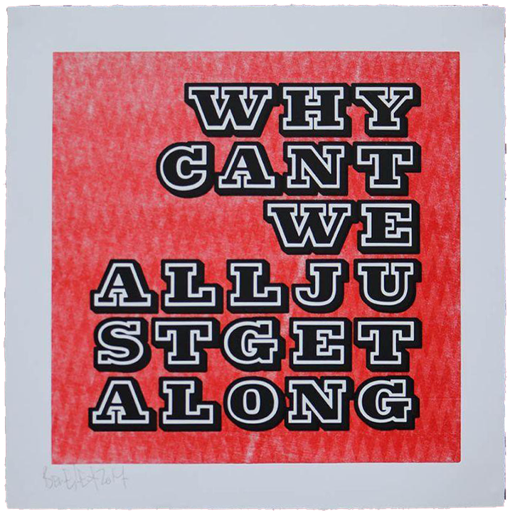 Why Can_t We All Get Along-Orange-Standard-65x65cm